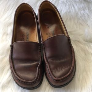 Birkenstock leather loafers good condition